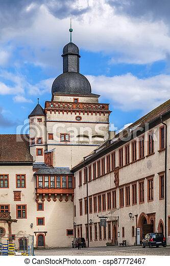 Marienberg Fortress, Wurzburg, Germany - csp87772467