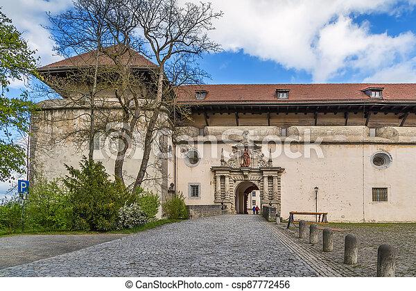 Marienberg Fortress, Wurzburg, Germany - csp87772456