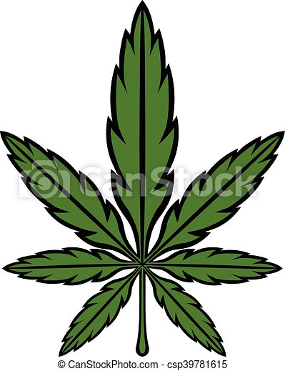marijuana 002 eps stylized green marijuana pot weed leaf rh canstockphoto ca pot leaf vector image free free pot leaf vector