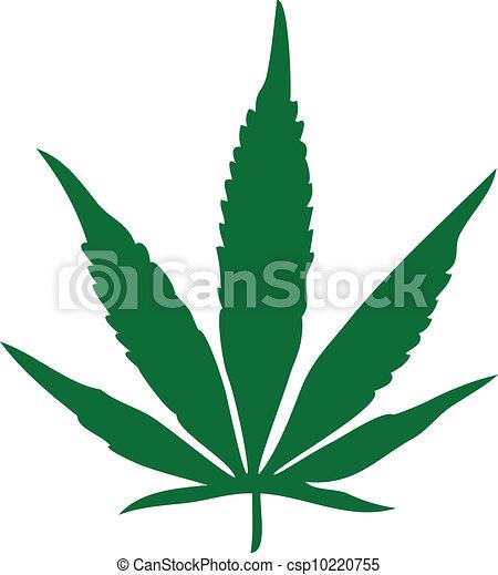Marijuana Leaf - csp10220755