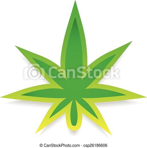 Marijuana Leaf - csp26186606