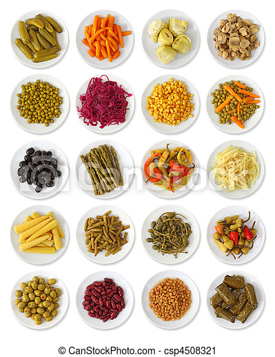 Marinated vegetables collection - csp4508321