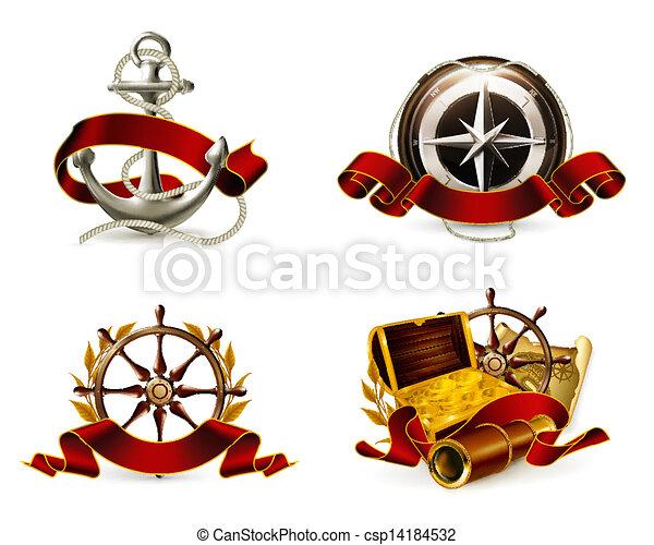 Marine Emblem set - csp14184532