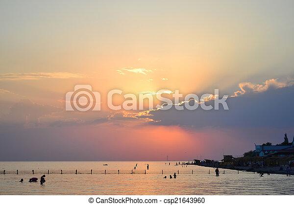 Marine landscape - csp21643960