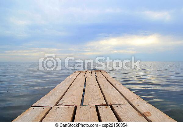 Marine landscape - csp22150354