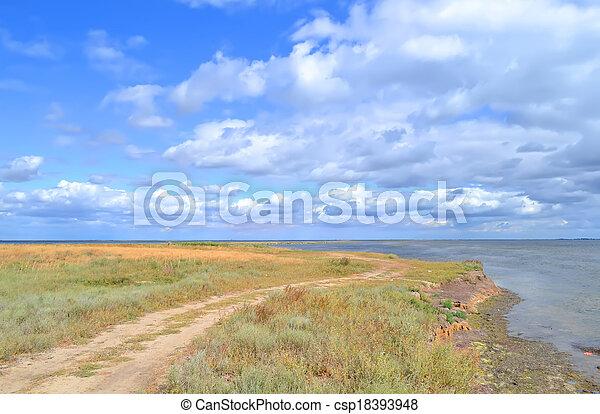 Marine landscape - csp18393948