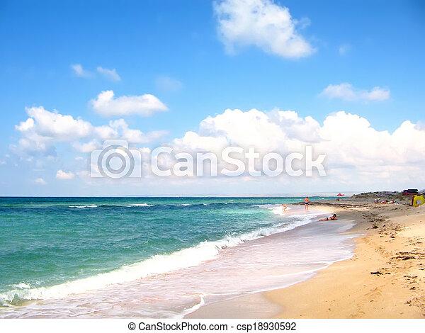 Marine landscape - csp18930592