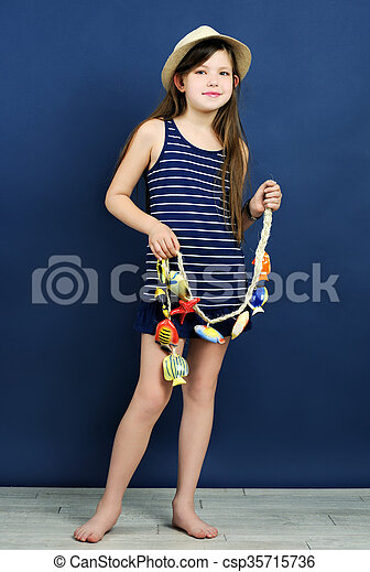 marine style portrait - csp35715736