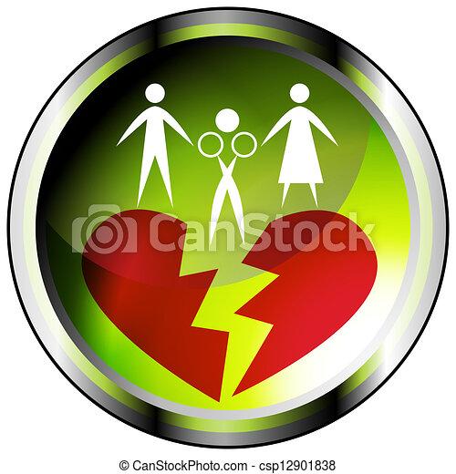 Marital Affair Icon - csp12901838