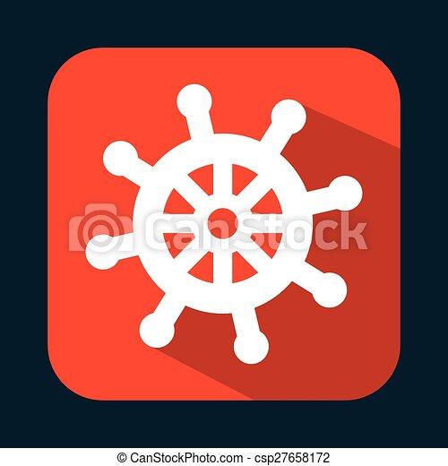 maritime icon - csp27658172