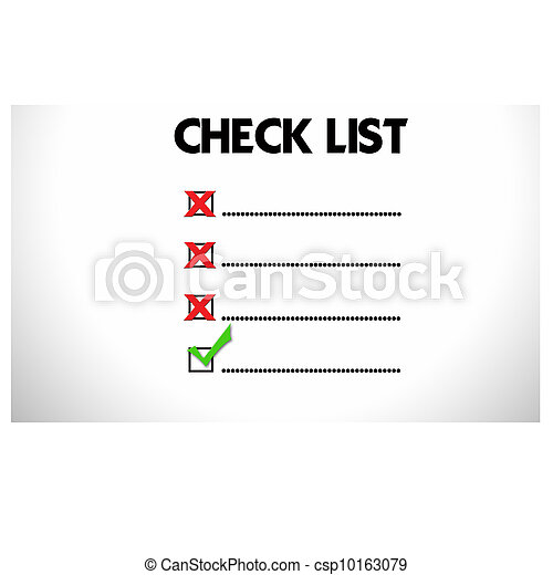 Mark on the check boxes. - csp10163079