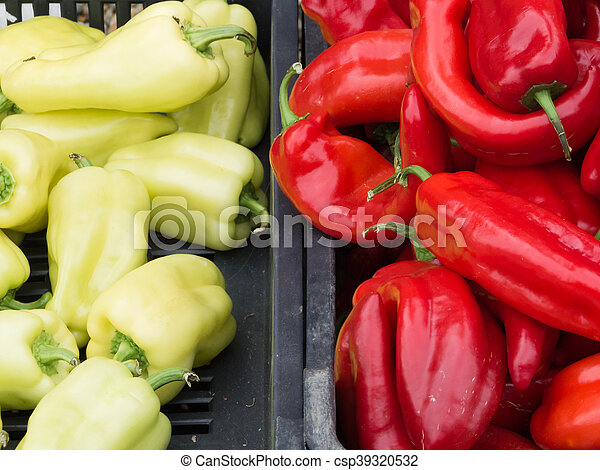 market., 야채, 농부, 신선한 - csp39320532
