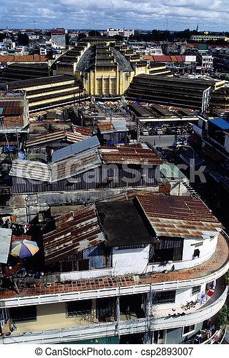Market- Cambodia - csp2893007
