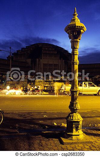Market- Phnom Penh, Cambodia - csp2683350
