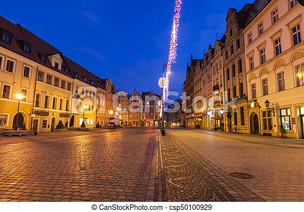 Market Square in Wroclaw - csp50100929