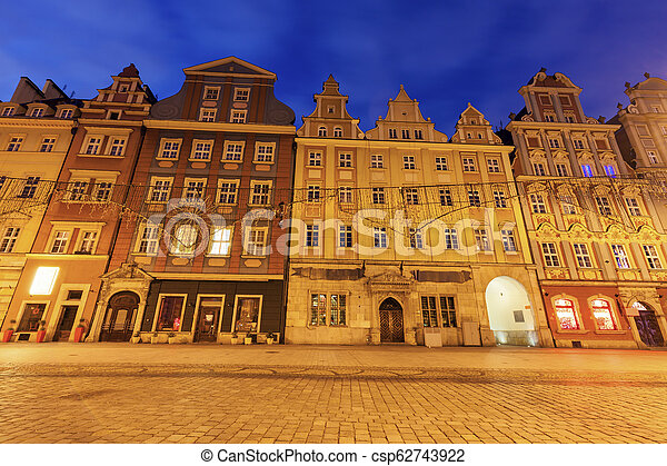 Market Square in Wroclaw - csp62743922