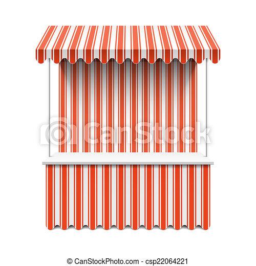 Market stall - csp22064221