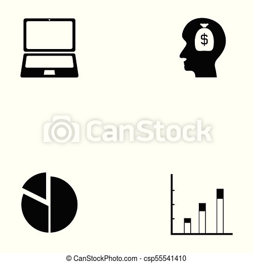marketing icon set vector clip art search illustration drawings rh canstockphoto ie marketing clipart free marketing clipart images