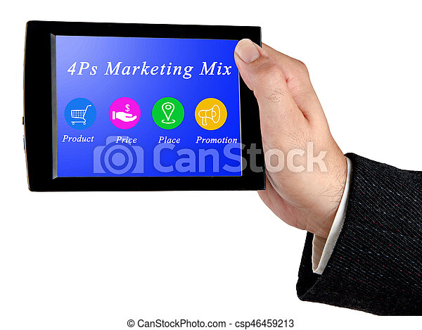 Marketing-Mix - csp46459213