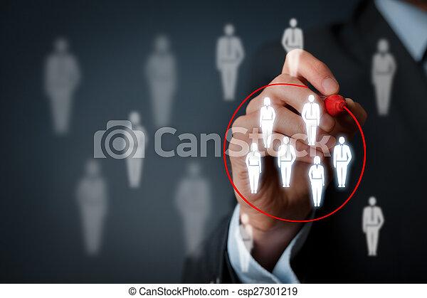 Marketing segmentation - csp27301219