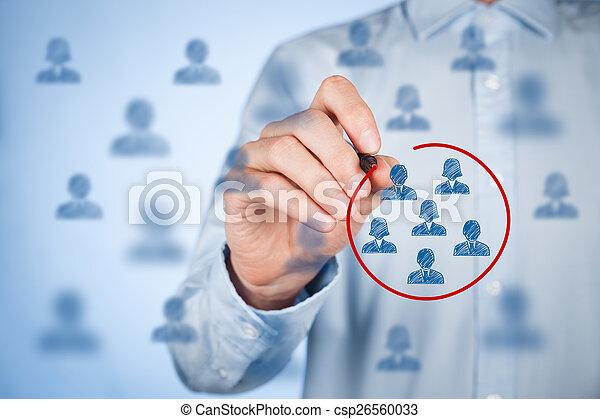 Marketing segmentation - csp26560033