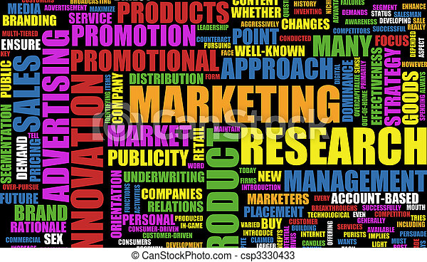 marketing - csp3330433