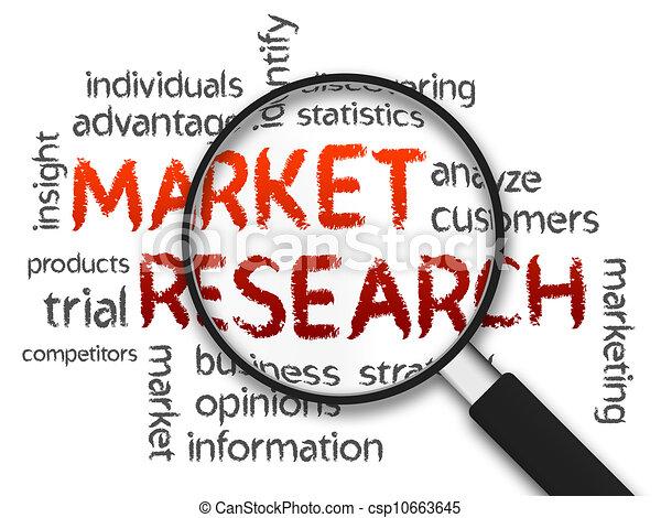 marknad undersökare - csp10663645
