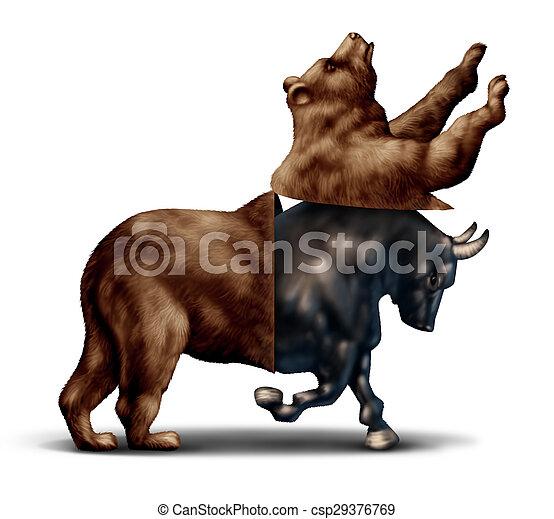 Bull Market Konzept - csp29376769