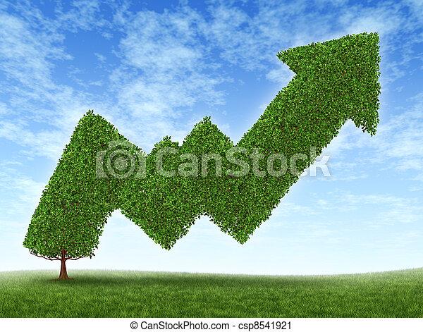 markt, succes, liggen - csp8541921