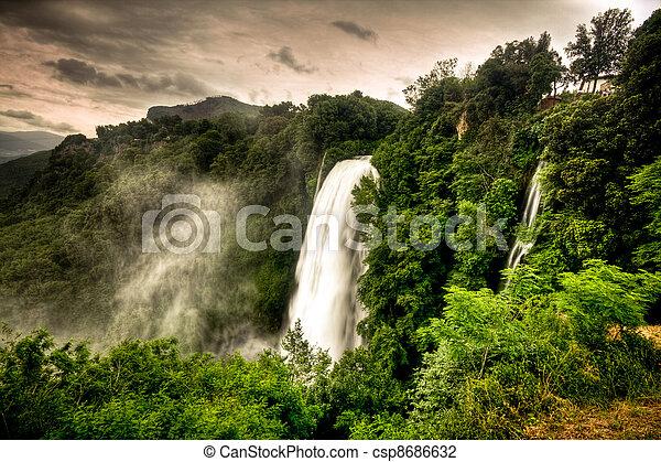 Marmore waterfalls - csp8686632