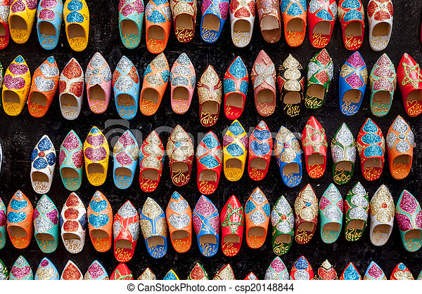 Slip in tofflor orientaliskt stil