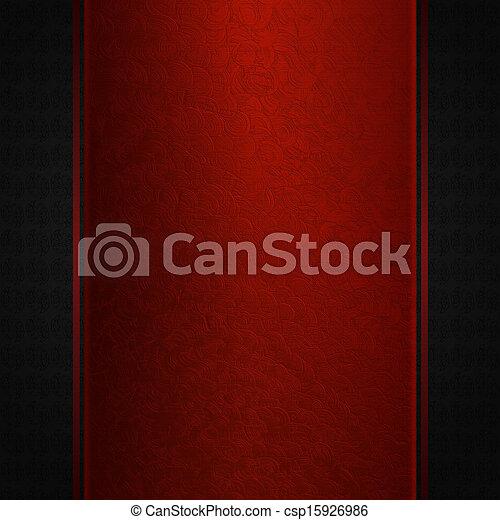 Maroon lace on dark background - csp15926986