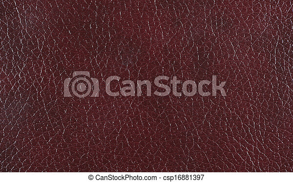 Maroon leather background  texture - csp16881397