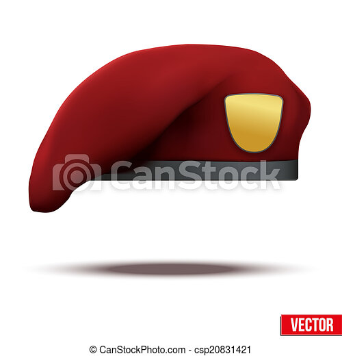 4b0adb5c961 Maroon military red beret army special forces. Maroon military red ...