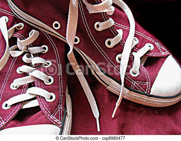 Maroon Sneakers - csp8980477