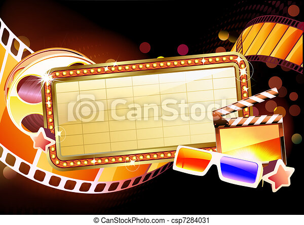 Movie Marquee Clipart