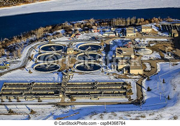 Marquis Industrial Aerial - csp84368764