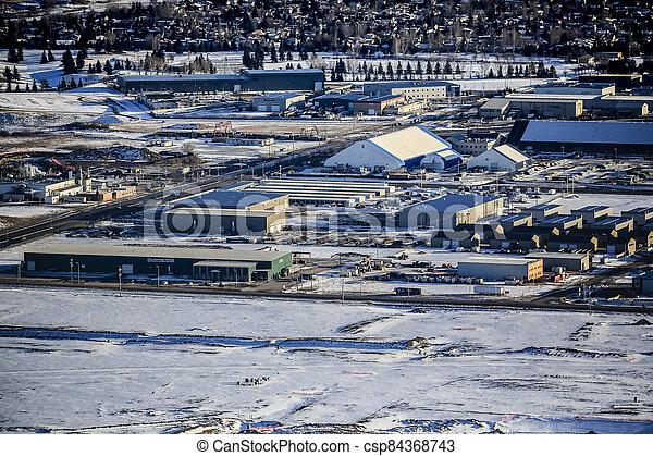Marquis Industrial Aerial - csp84368743