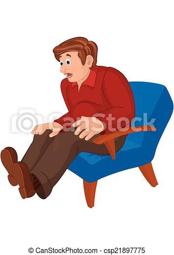 pantalones sentando