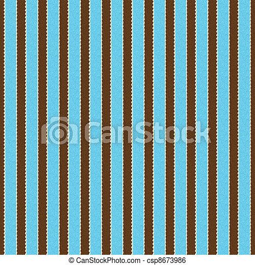 marrón, y, seamless, agua, raya, blanco - csp8673986