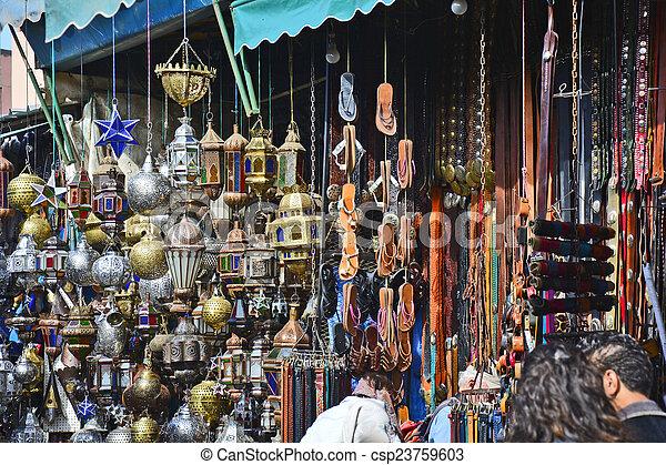 marrakesh, marokko - csp23759603