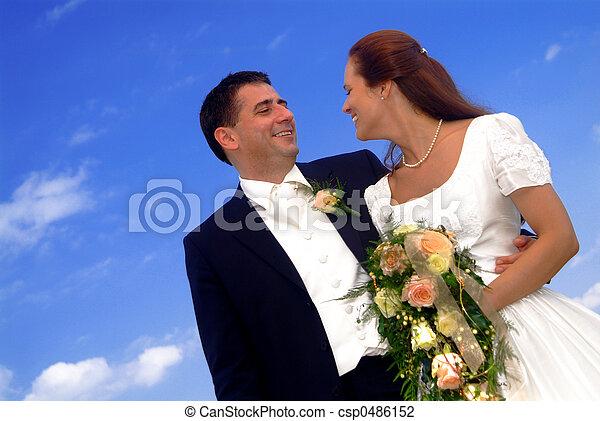 marriage pair - csp0486152