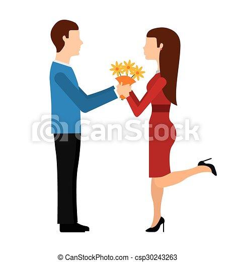 marriage proposal - csp30243263