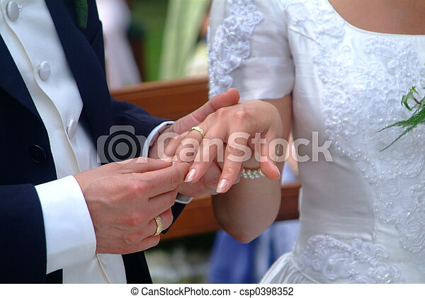 marriage - csp0398352