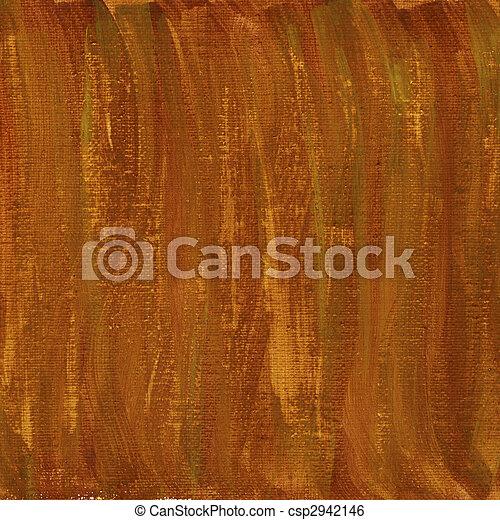 marrom, lona, abstratos, textura, aquarela, vermelho - csp2942146