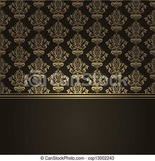 marrom, luxo, fundo - csp13002243