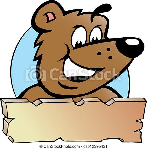 marrom orgulhoso desenho urso feliz marrom orgulhoso