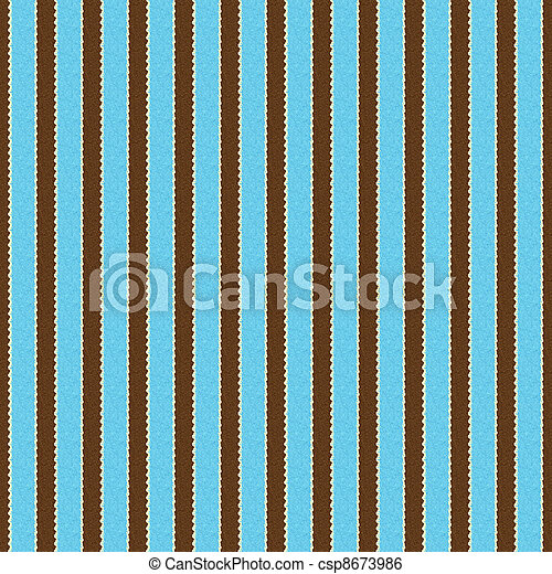 marrone, &, seamless, aqua, striscia, bianco - csp8673986