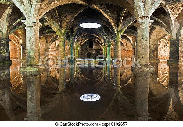 La cisterna Manueline en El-jadida, Morocco - csp10102657