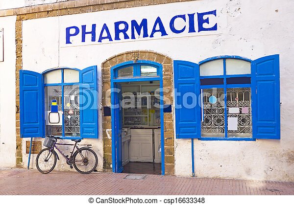 marruecos, marroquí, farmacia - csp16633348